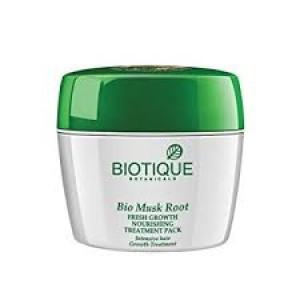 Biotique Bio Musk Root Fresh Growth Nourishing Treatment Pack 230gm