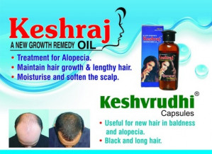 Keshraj Hair growth combo pack of 2
