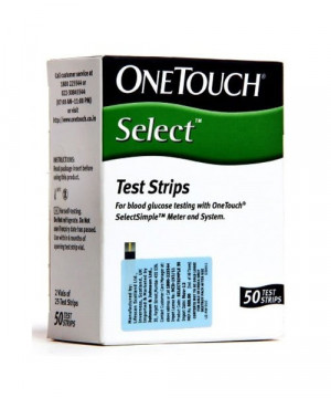 One Touch Select Test Strip 50's