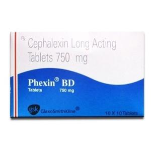 Phexin BD 750mg Tablet 10's