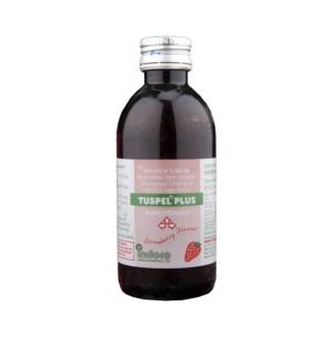 Tuspel Plus Strawberry Syrup 100ml