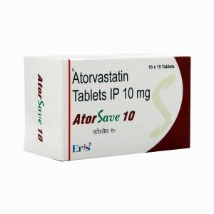 Atorsave 10 Tablet 15's