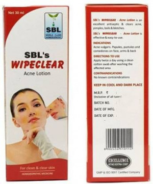SBL Wipe Clear Acne Lotion