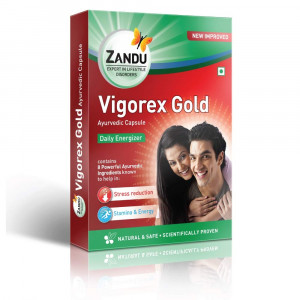 Zandu Vigorex Gold 10 Capsules combo of 6 packs