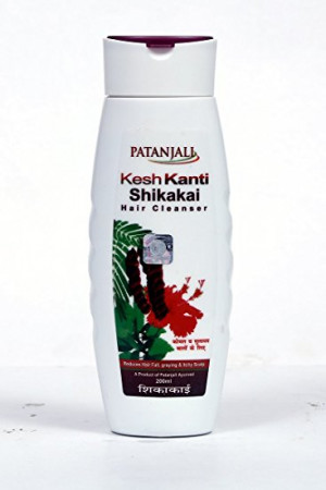 Patanjali keshkanti shikakai hair cleanser 200ml