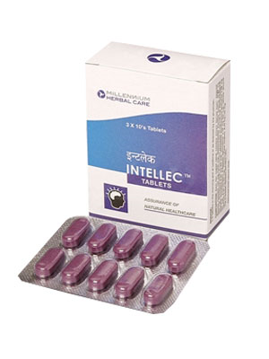 Millennium Intellec 10 Tablets x 3