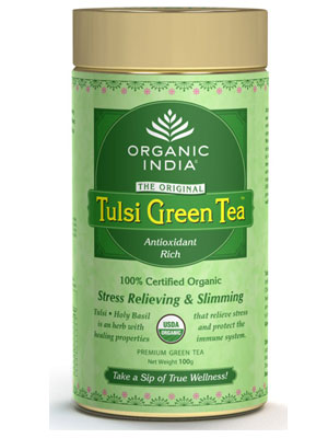 Organic India Tulsi Green Tea Classic 25 Tea Bag