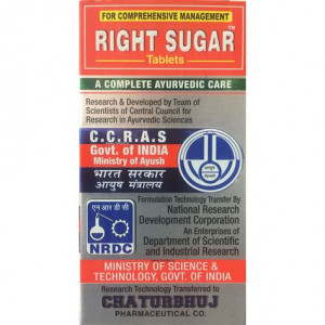 Right Sugar 120 Tablets Chaturbhuj Pharmaceuticals