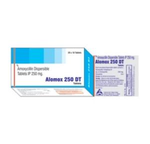 Amoxycilin 250mg Tabs (Alomax 250 DT)