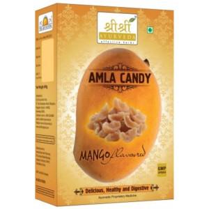 SRI SRI AYURVEDA AMLA MANGO CANDY 400GM