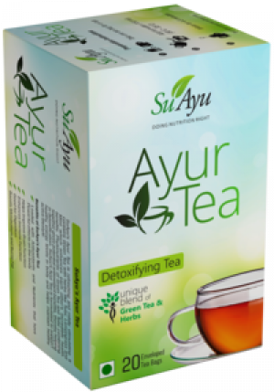 Ayur Tea(Pack Of ) (A Unique Blend Of Green Tea)