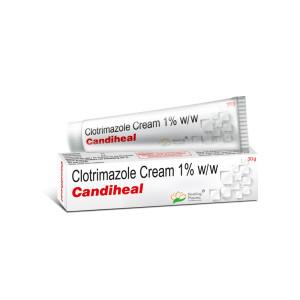 Candiheal Cream 30gm(Clotrimazole Cream 1% W/W)