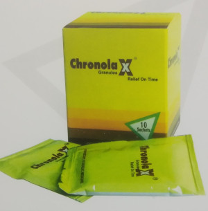 CHRONOLA X GRANULES 5GM*10SACHETS*1 BOX