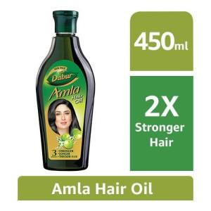 Dabur Amla Hair Oil for Long, Healthy and Strong Hair - 450 ml