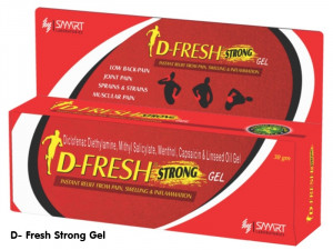 DFRESH STRONG GEL 30gm
