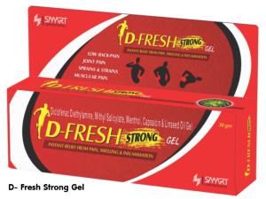 DFRESH STRONG GEL 30gm