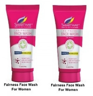 Smartway Fairness Facewash For Women 70g
