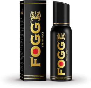FOGG MEN FRESH SPICY BODY SPRAY 125GM/150ML