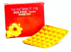 Folvite 5mg Tablet 45s