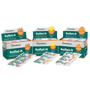 Koflet-H lozenges (Ginger flvr) 1*6s*10