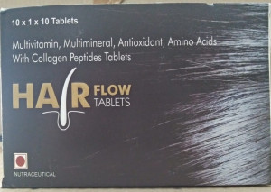 Hair flow Tablet Pack of 10*3