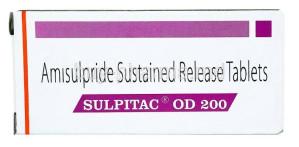 Sulpitac OD 200 tablet 10's