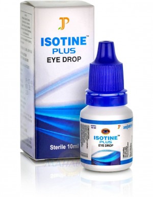Isotine Plus Eye Drops 10ml