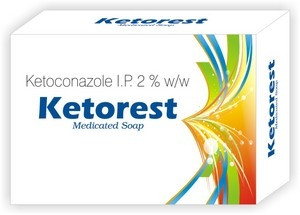 KETOREST SOAP 50GM(KETOCONAZOLE 2%)