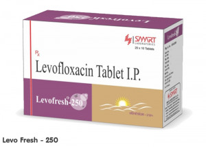 Levofresh 250mg 1*10tabs
