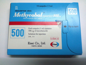 METHYCOBAL INJ 500MCG PACK OF 5 (B12 INJ)