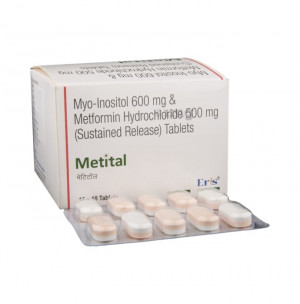 Metital Tablet SR 500mg