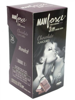 Manforce Chocolate Condom 20'S