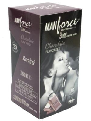 Manforce Chocolate Condom 20'S