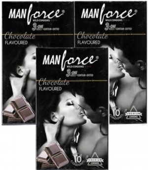 Manforce Chocolate Condom SET OF 3*10