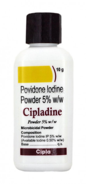 Cipladine 5% powder 10g