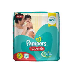 Pampers Pants Small Size Diapers (86 Count)