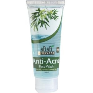 SRI SRI ANTI ACNE FACEWASH 60ML