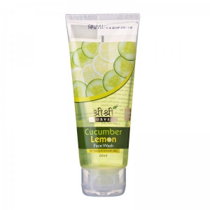 SRI SRI CUCUMBER & LEMON FACE WASH