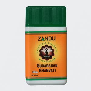 Sudarshan Ghanvati Tablets 40's(Zandu)