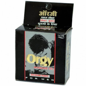 Orgy Massage Oil (To improve libido) 14ml