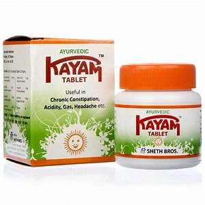 Kayam Tablets 100gm