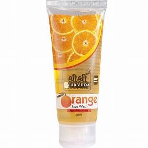 SRI SRI ORANGE FACE WASH 60ML