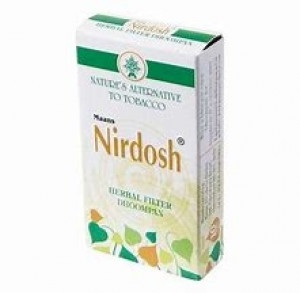 Nirdosh Herbal Filter Cigarettes - 10 units