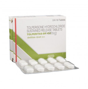 Tolperitas sr 450mg tablet 10's