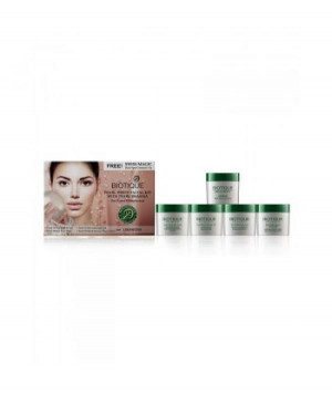 Biotique Bio Pearl White Facial Kit With Pearl Bhasma Combo Pack