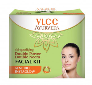 SKIN PURIFYING DOUBLE POWER DOUBLE NEEM FACIAL KIT