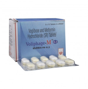 Voliphage-M 0.3 Tablet SR 10's
