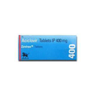 Zovirax 400 Tablet 10's