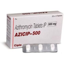 Azicip 500mg 3's(Azithromycin 500mg)