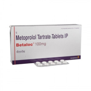 Betaloc 100mg Tablet 10's
